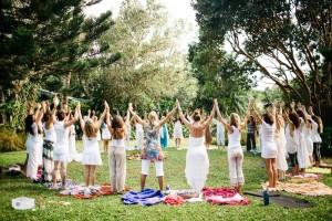 Goddess rising Women's Circle Sistership Circle Divine Feminine Rising
