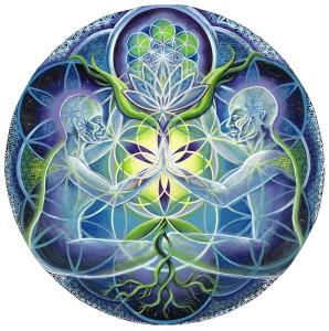 Morgan Mandala art